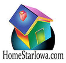 Home Star Iowa logo of infrared house