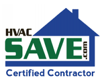 HVAC SAVE.com Certified Contractor Logo